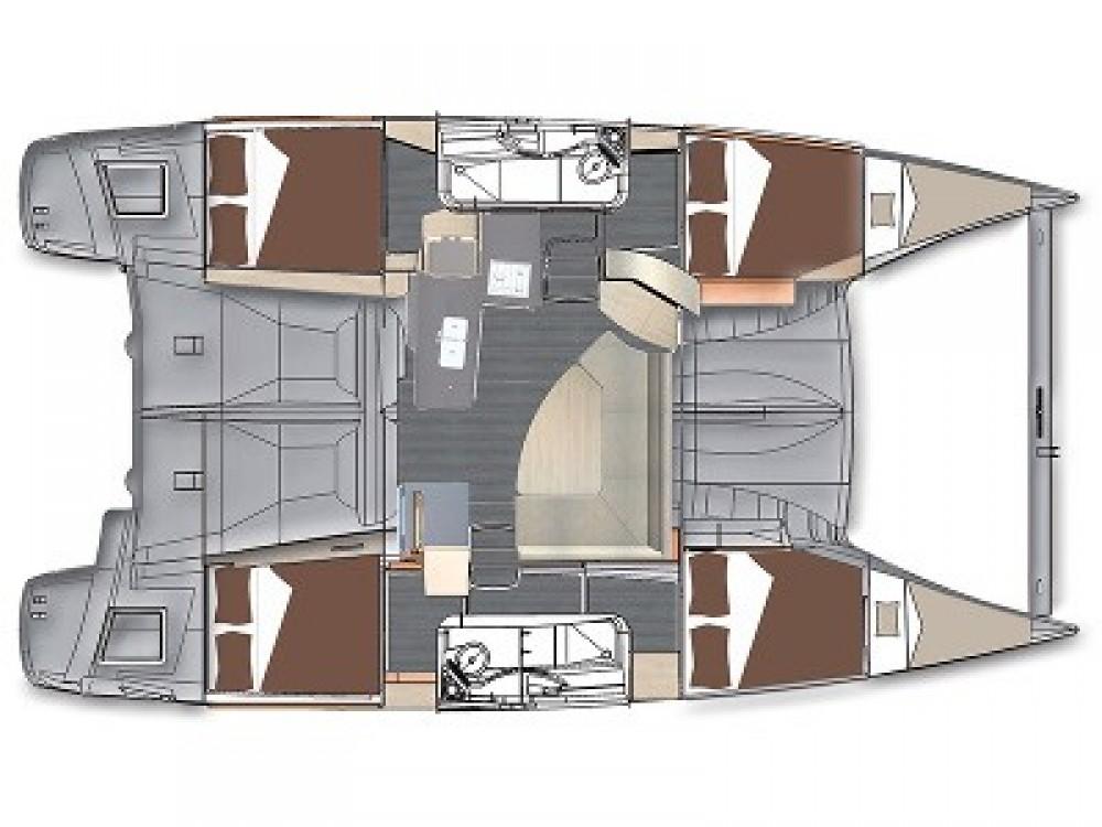 Louer Catamaran avec ou sans skipper Fountaine Pajot à Marina Kaštela