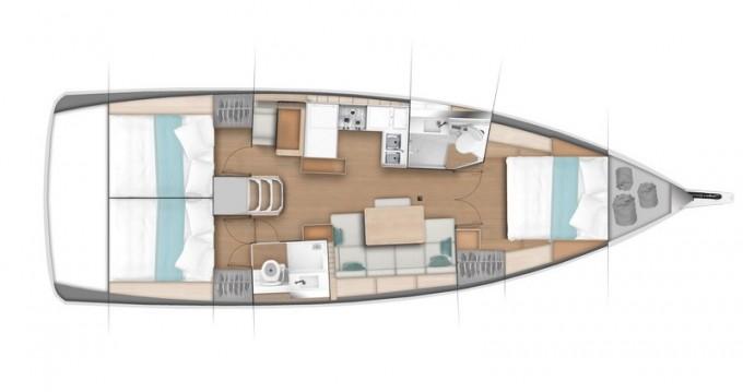 Location bateau Veruda pas cher Sun Odyssey 440