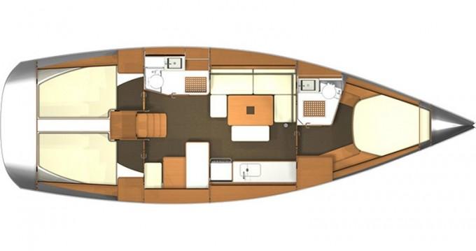 Location bateau Dufour Dufour 405 RM à Kaštel Gomilica sur Samboat