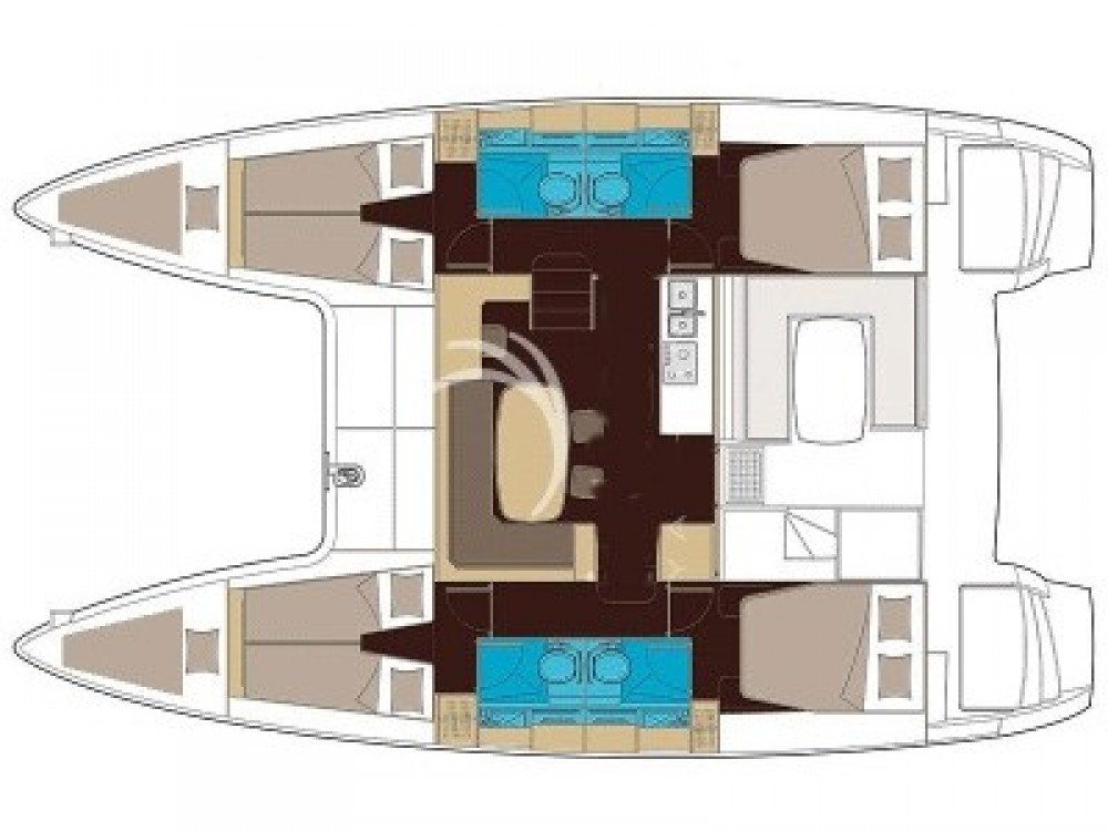 Location Catamaran à Sant Antoni de Portmany - Lagoon Lagoon 40