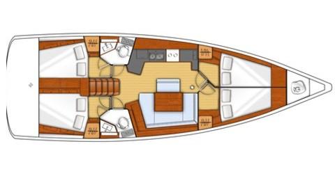 Location bateau Bénéteau Oceanis 45 à Marina di Portorosa sur Samboat