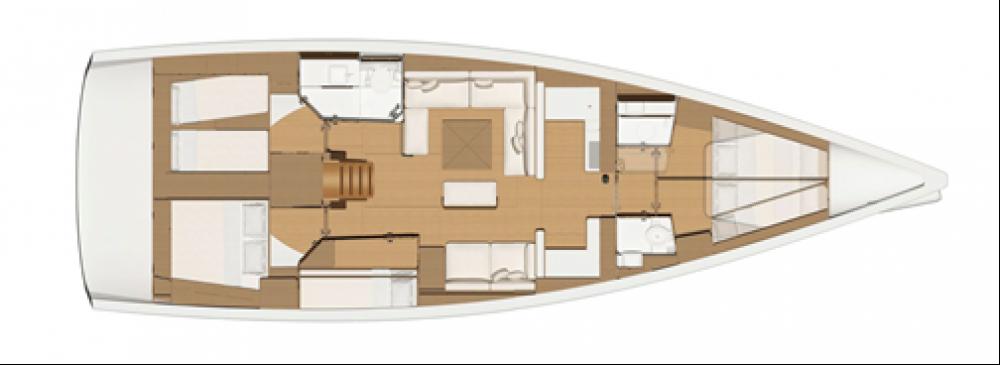 Location yacht à Leucade - Dufour Dufour 520 GL sur SamBoat