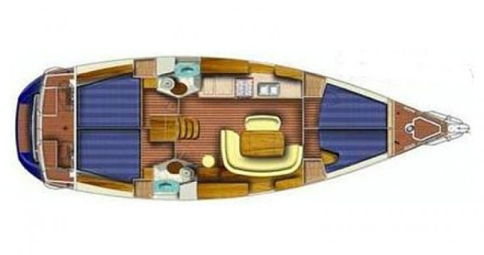 Location bateau Jeanneau Sun Odyssey 45 à Rijeka sur Samboat