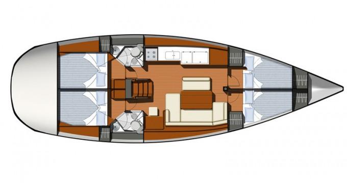 Location yacht à Pálairos - Jeanneau Sun Odyssey 44i sur SamBoat
