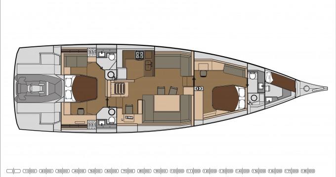 Location yacht à Ágios Kosmás - Dufour Dufour 63 Exclusive sur SamBoat