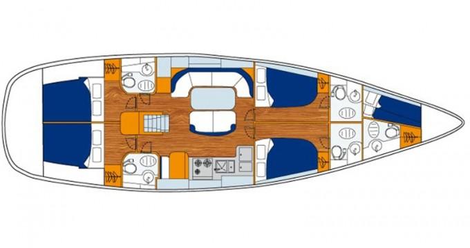 Location bateau Bénéteau Oceanis 50 Performance à Álimos sur Samboat