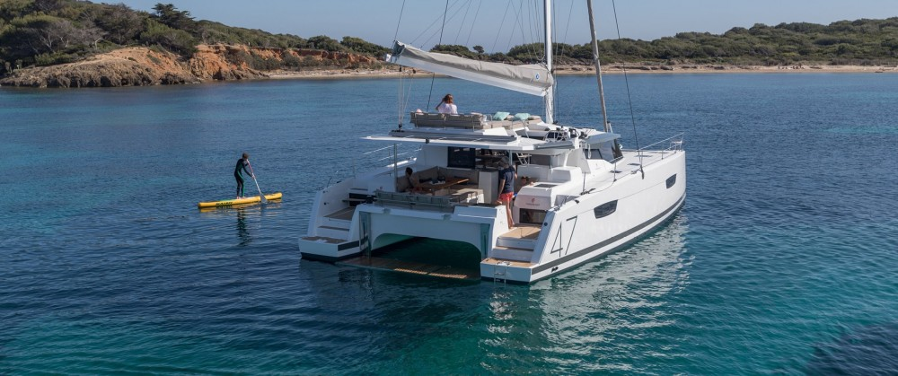 Location yacht à  - Fountaine Pajot Fountaine Pajot Saona 47 sur SamBoat
