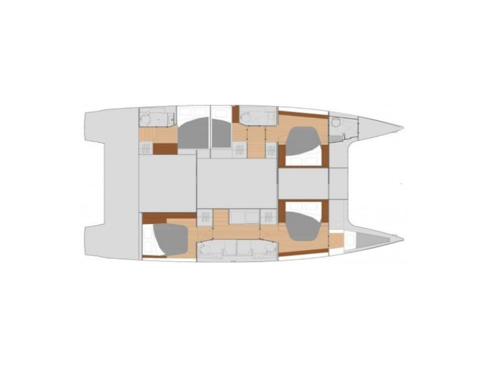 Location bateau  pas cher Fountaine Pajot Saona 47