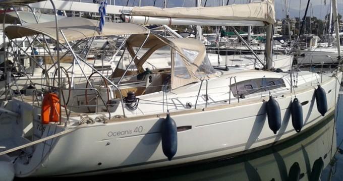 Location bateau Bénéteau Oceanis 40 à Éleusis sur Samboat