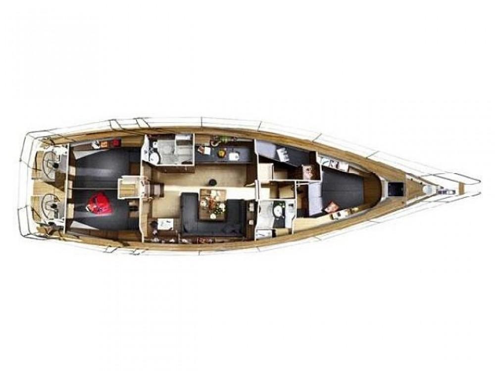 Louez un Bavaria Bavaria Cruiser 46 Y/B 2009 à Leucade