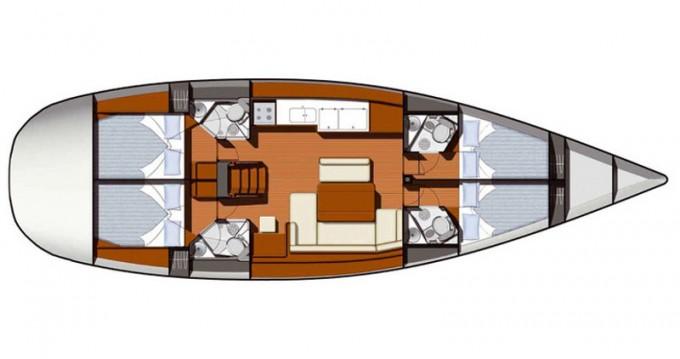 Location yacht à Sukošan - Jeanneau Sun Odyssey 49i sur SamBoat
