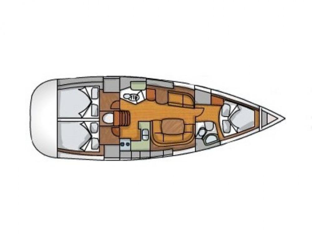 Location bateau Jeanneau Sun Odyssey 42 i à Sukošan sur Samboat