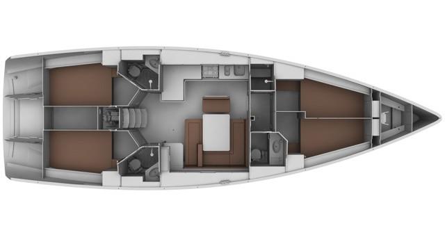 Location bateau Bavaria Bavaria 45 BT '12 à Sukošan sur Samboat