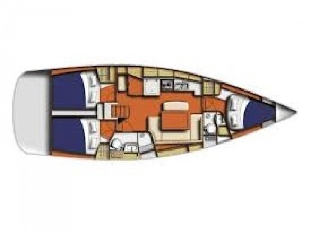 Location bateau Marina de Alimos pas cher Oceanis 40