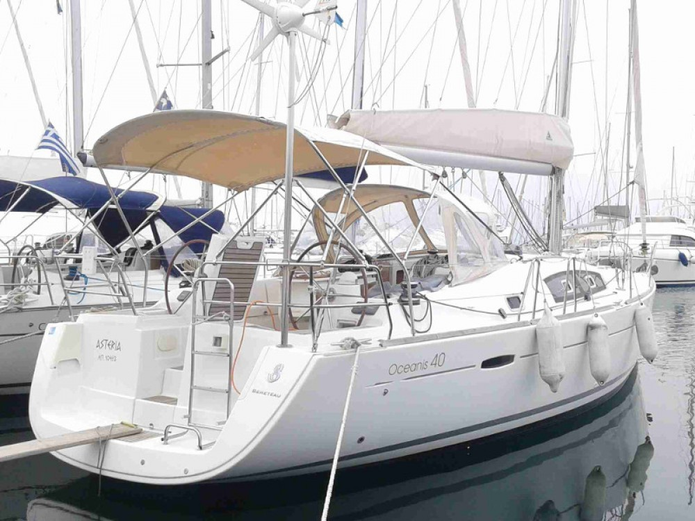 Location yacht à Marina de Alimos - Bénéteau Oceanis 40 sur SamBoat