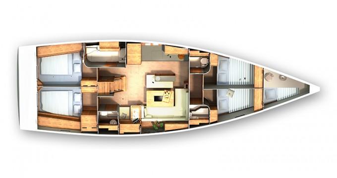Location bateau Sibenik pas cher Hanse 505
