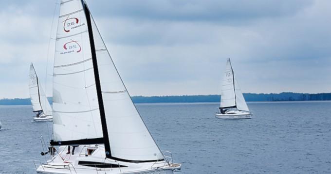 Location bateau Węgorzewo pas cher Maxus 26 Prestige + 8/1