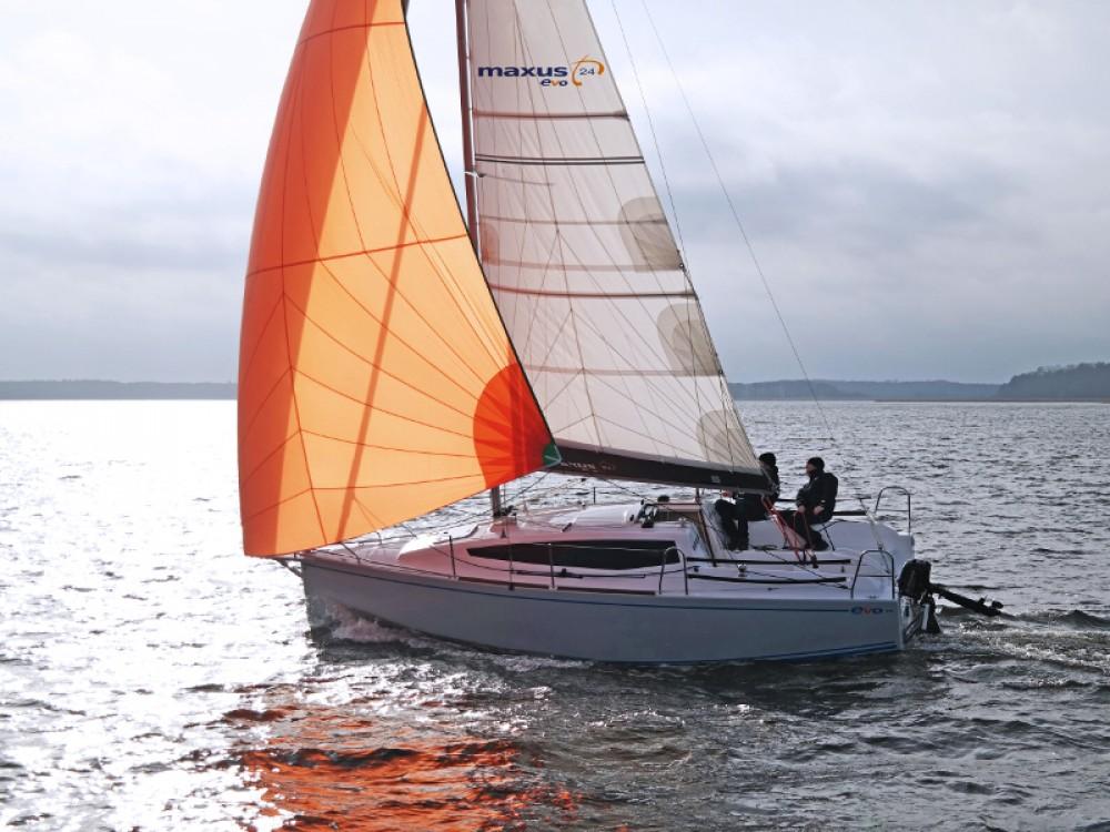 Location Voilier à Port PTTK Wilkasy - Northman Maxus evo 24 Prestige
