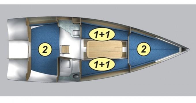 Location yacht à Węgorzewo - Northman Maxus evo 24 Standard sur SamBoat