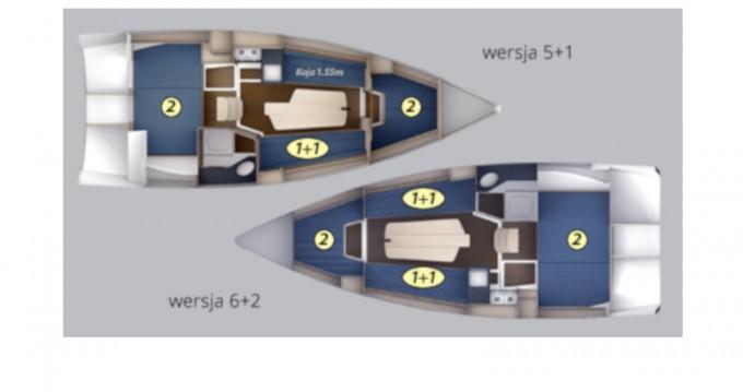 Louez un Northman Maxus 26 Prestige + 8/1 à Węgorzewo