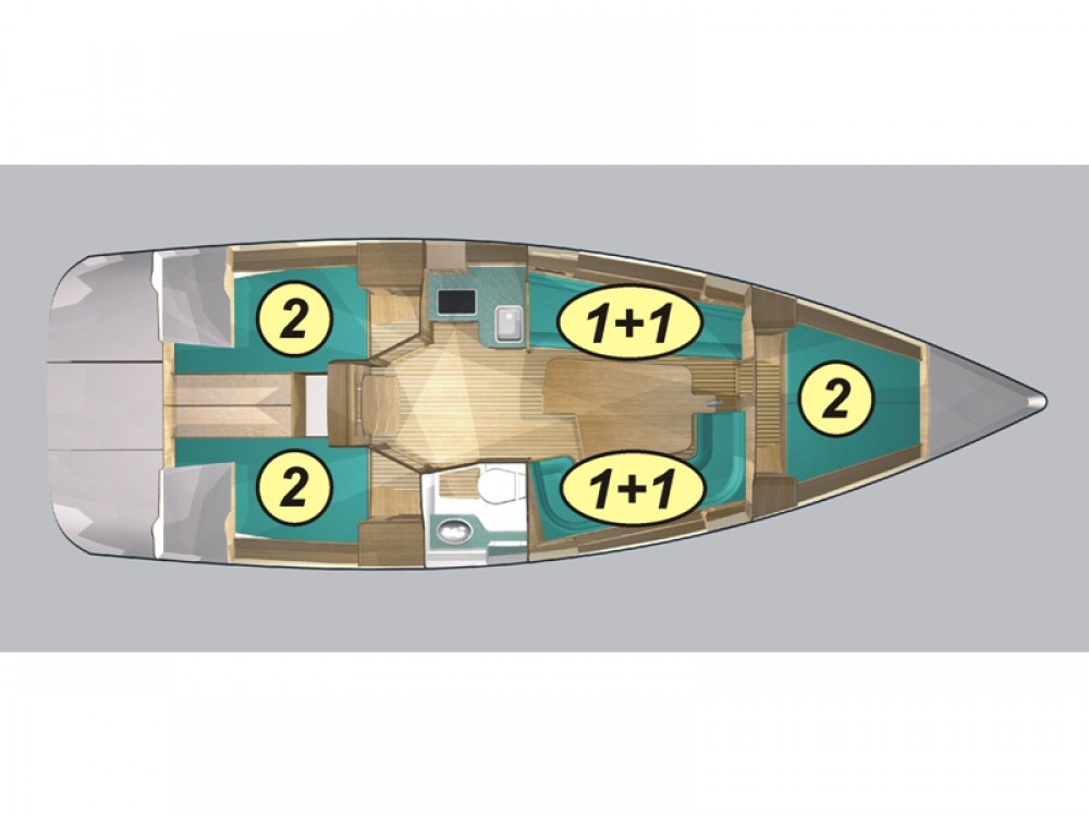 Louez un Northman Maxus 33.1 RS Prestige à Wilkasy
