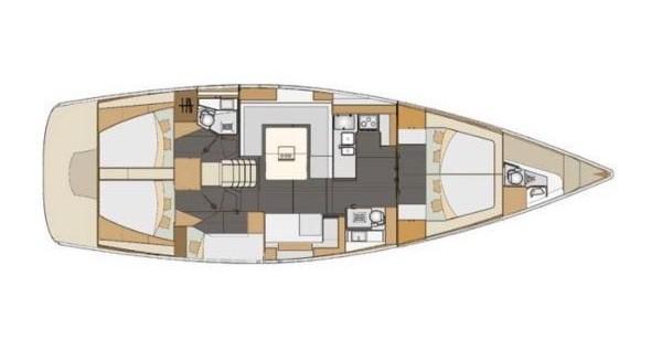 Location bateau Pirovac pas cher Impression 50