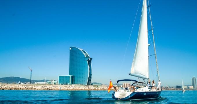 Location bateau Barcelone pas cher Jeanneau Sun Odyssey 54DS