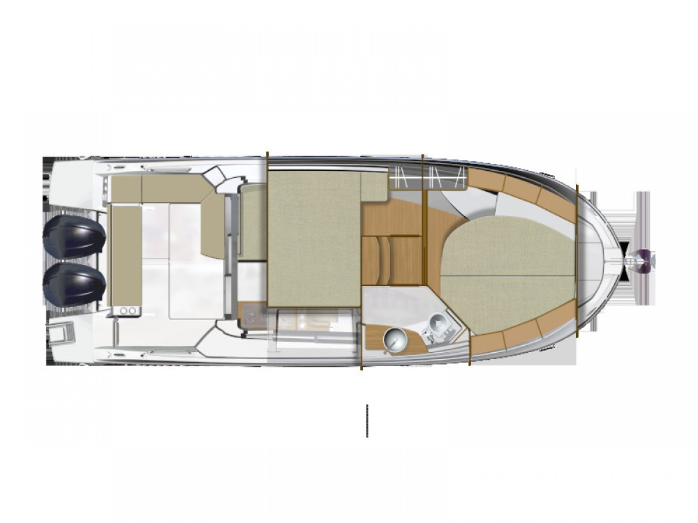 Louer Bateau à moteur avec ou sans skipper Bénéteau à Zadar