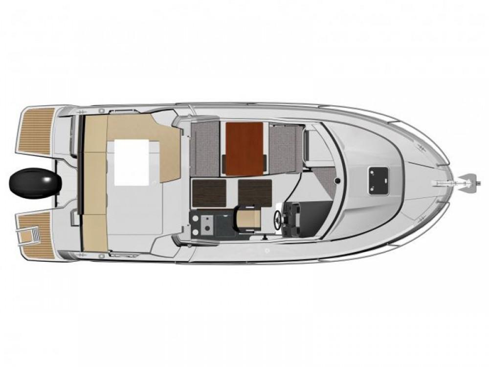 Louer Bateau à moteur avec ou sans skipper Jeanneau à Trogir