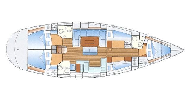 Location bateau Port de Sitges Aiguadolç pas cher Bavaria 50 Cruiser