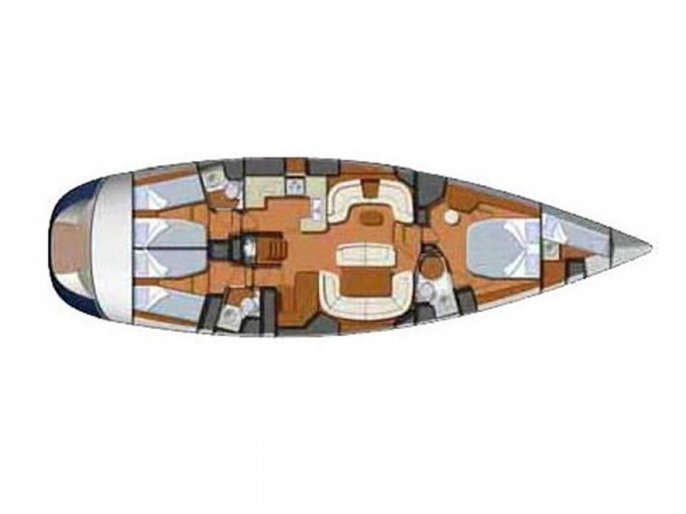 Location bateau Leucade pas cher Sun Odyssey 54DS