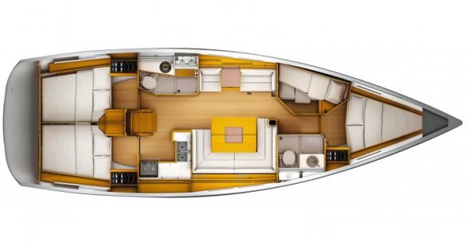 Location bateau Olbia pas cher Sun Odyssey 449