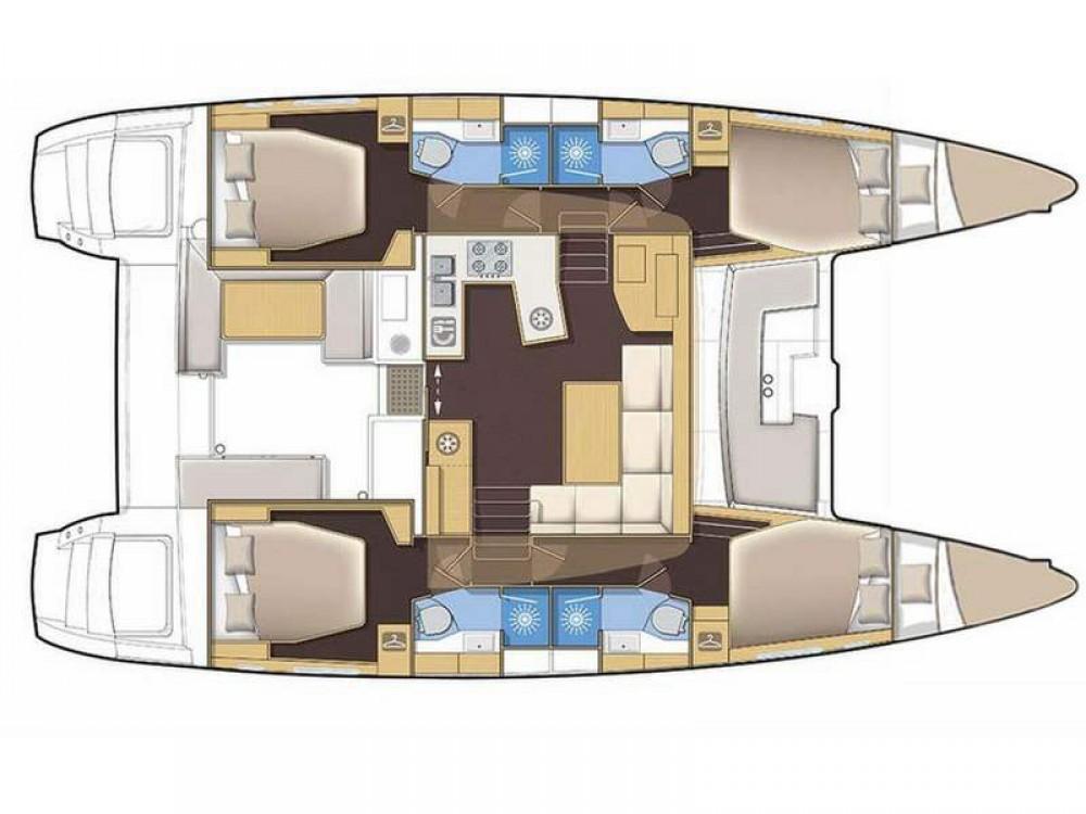 Louer Catamaran avec ou sans skipper Lagoon à Olbia