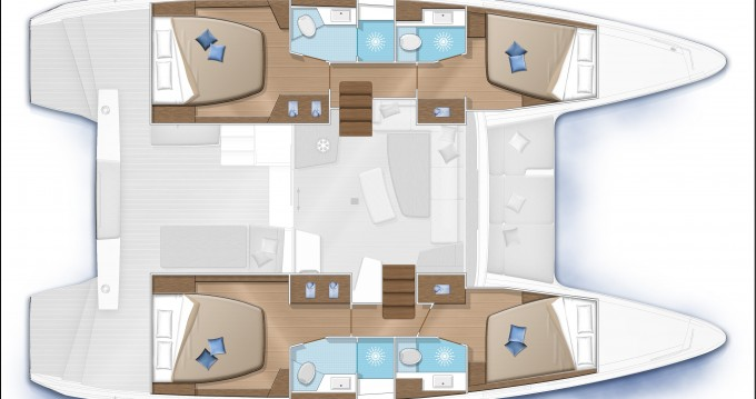 Location yacht à Capo d'Orlando - Lagoon Lagoon 42 sur SamBoat