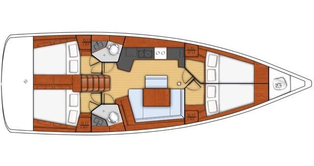Location bateau Bénéteau Oceanis 45 à Salerno sur Samboat