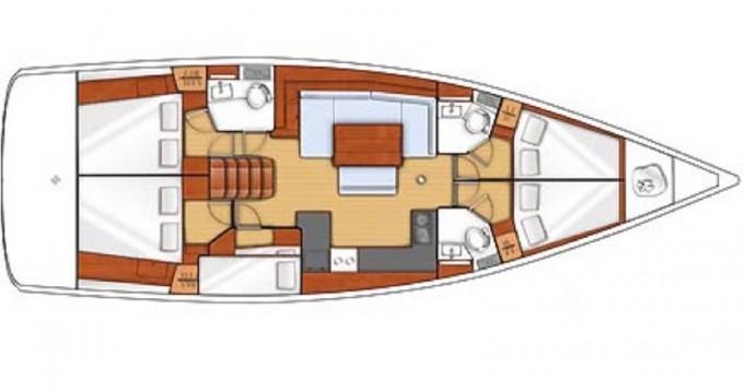 Location bateau Marina di Portorosa pas cher Oceanis 48