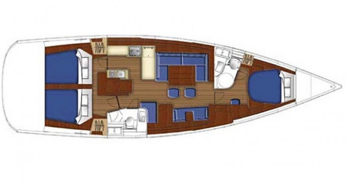 Location bateau Marina di Portorosa pas cher Oceanis 50