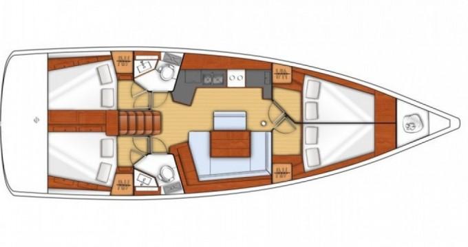 Louez un Bénéteau Oceanis 45 à Marina di Portorosa