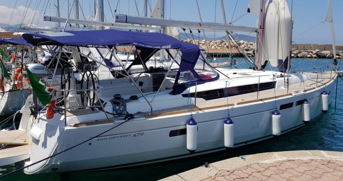 Louez un Jeanneau Sun Odyssey 479 à Olbia