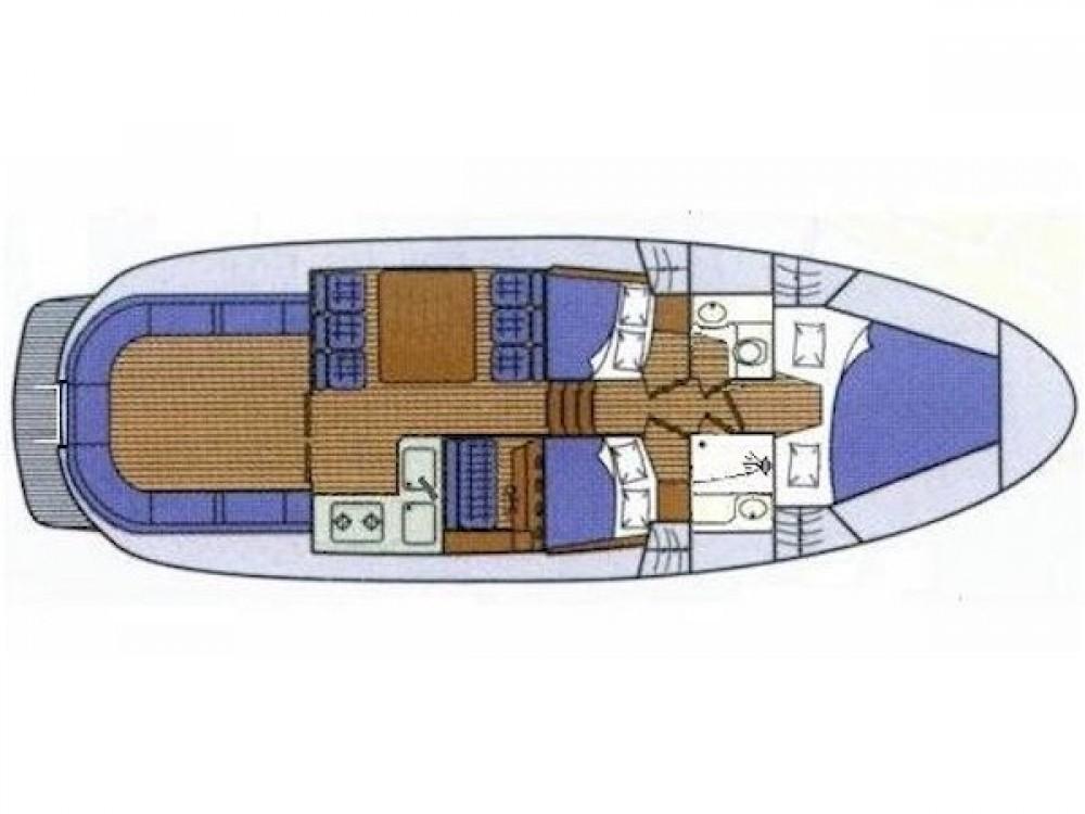Louer Bateau à moteur avec ou sans skipper Sas Vektor à Zadar