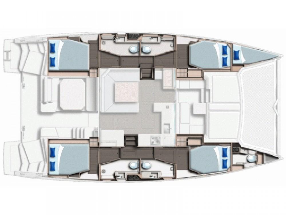 Location yacht à Gassin - Leopard Leopard 45 sur SamBoat