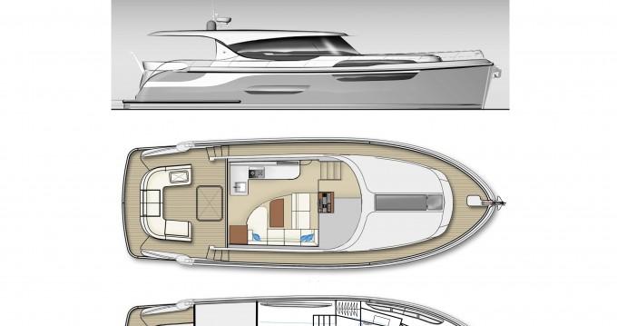 Location bateau Kortgene pas cher Jetten 42 MPC