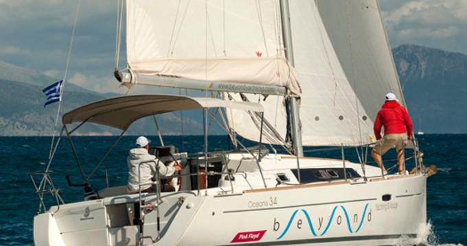 Location yacht à Lefkada (Île) - Bénéteau Oceanis 34 sur SamBoat
