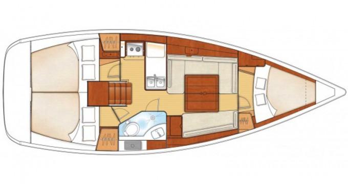 Location bateau Lefkada (Île) pas cher Oceanis 34