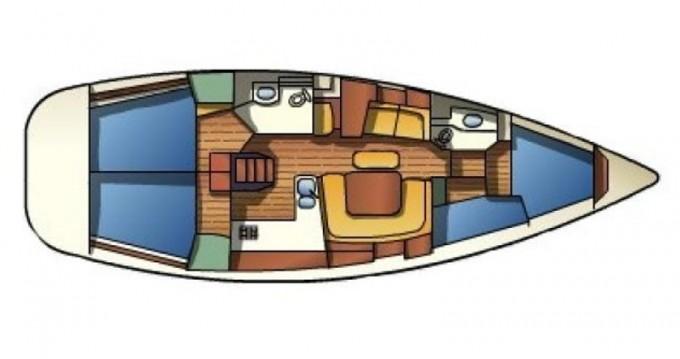 Jeanneau Sun Odyssey 43 entre particuliers et professionnel à Naples