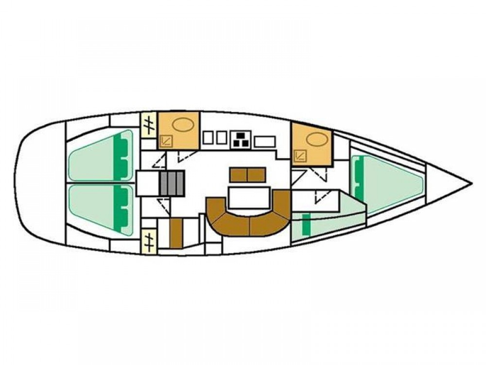 Location bateau Álimos pas cher Oceanis 411