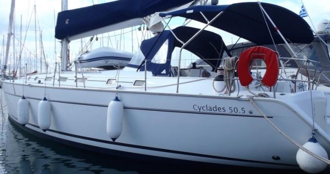 Bénéteau Cyclades 50.5 entre particuliers et professionnel à Álimos