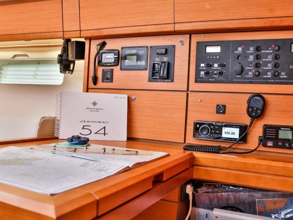 Location bateau Jeanneau Jeanneau 54 ( A/C ,GENERATOR,INVENTER ) à Álimos sur Samboat