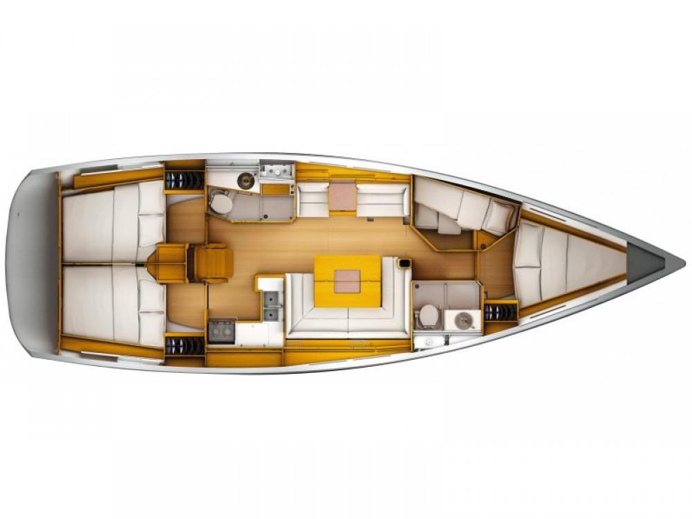 Location bateau Laurion pas cher Sun Odyssey 449