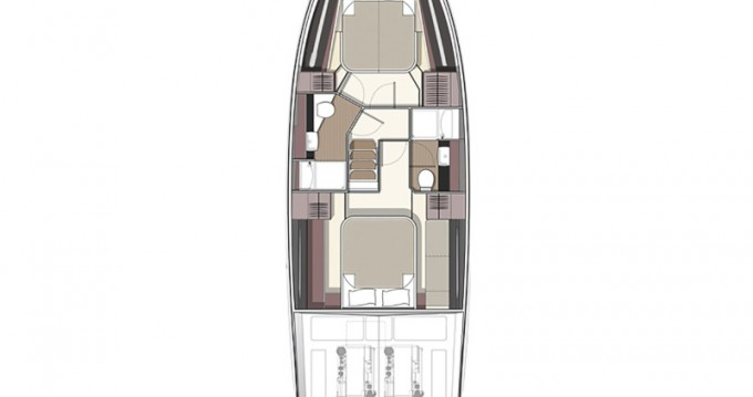 Location bateau Donji Seget pas cher Bavaria R40 FLY